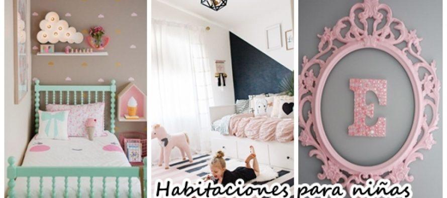 40 ideas lindas para decorar la habitaci n de una ni a - Ideas para decorar habitacion de nina ...