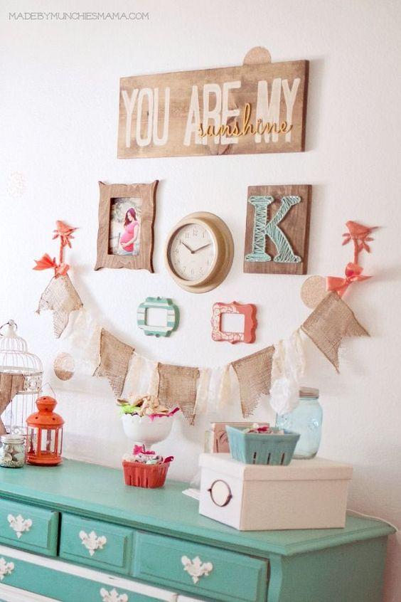40 ideas lindas para decorar la habitacion de una nina 5 - Ideas para decorar habitacion de nina ...