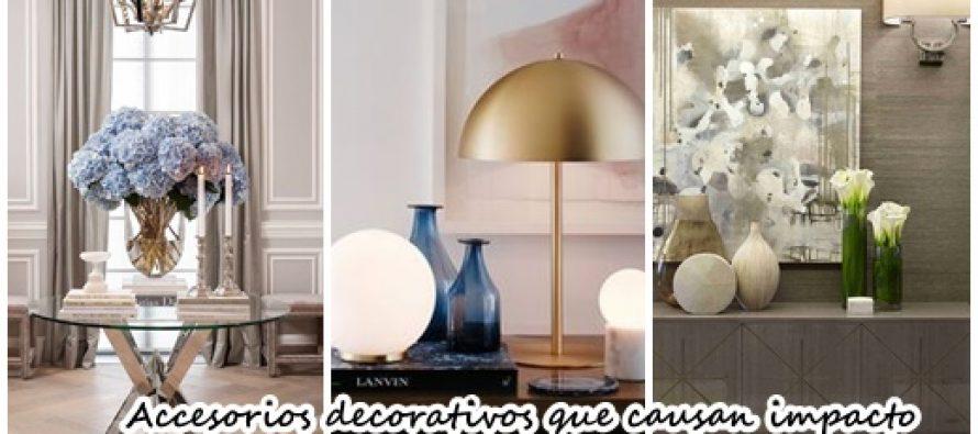 Accesorios decorativos que causan un gran impacto en la - Accesorios para decoracion de interiores ...