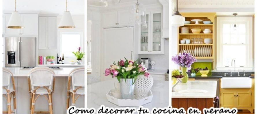 Como decorar tu cocina en primavera verano decoracion de for Como de corar una cocina