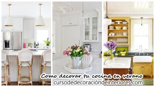 Como decorar tu cocina en primavera verano curso de decoracion de interiores interiorismo - Como decorar tu cocina ...