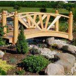 Decora el jardín de tu casa con puentes ¡Se ve precioso!
