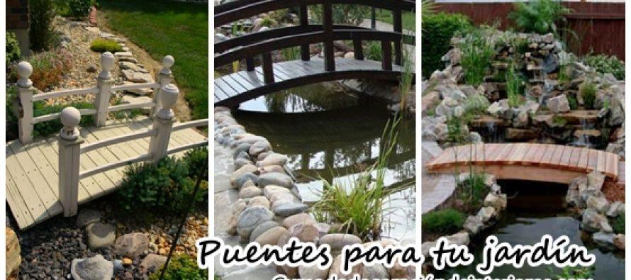 Decora el jardin de tu casa con puentes se ve precioso for Decora tu jardin