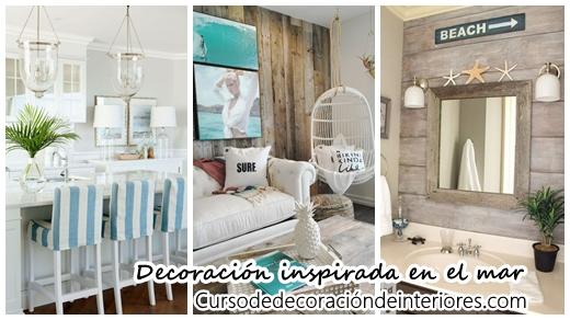 Decoraci n de interiores estilo coastal inspirado en el for Cursos de decoracion de interiores en montevideo