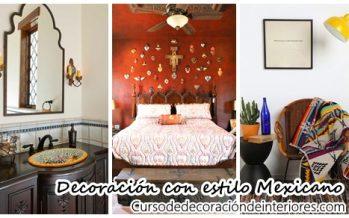 Decoración de interiores inspirado en el estilo Mexicano