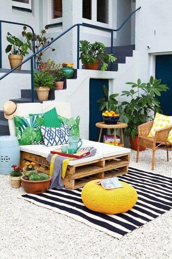 Decoracion de terrazas coloridas 28 decoracion de - Decorar paredes de terrazas ...