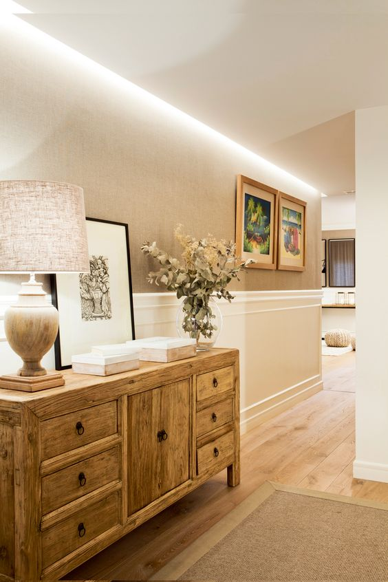 Diseños de muebles de madera para decorar tu casa