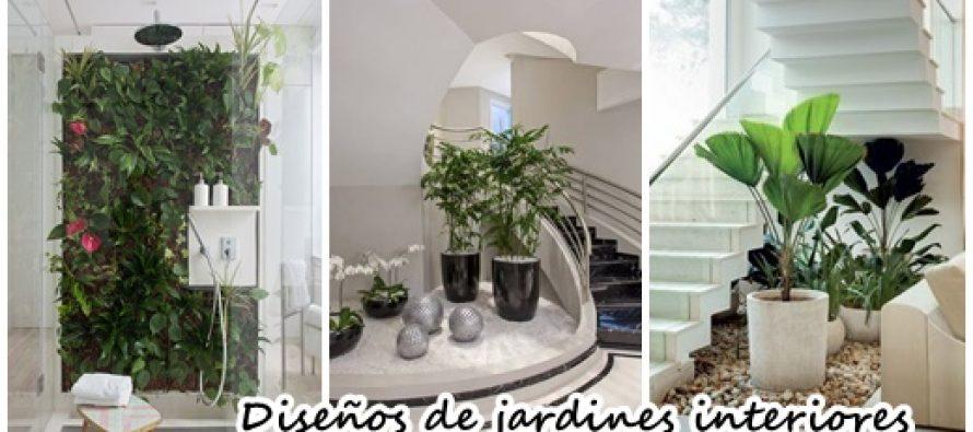 Ideas para jardines en el interior de tu hogar ¡Se ven hermosos!
