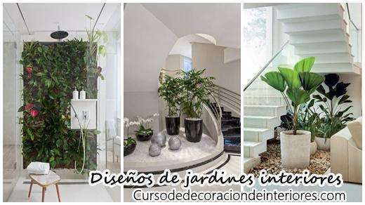 Ideas para jardines en el interior de tu hogar ¡Se ven hermosos ...
