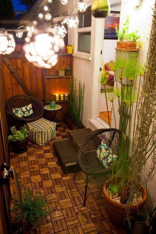 mira estas 36 ideas para decorar terrazas o balcones pequenos 31 curso de decoracion de. Black Bedroom Furniture Sets. Home Design Ideas