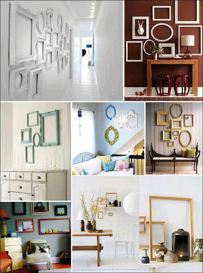 30-ideas-para-reciclar-marcos-y-decorar-con-ellos (27)   Decoracion ...