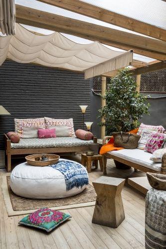 32 extraordinarias ideas para amueblar tu terraza y jardin for Ideas para amueblar