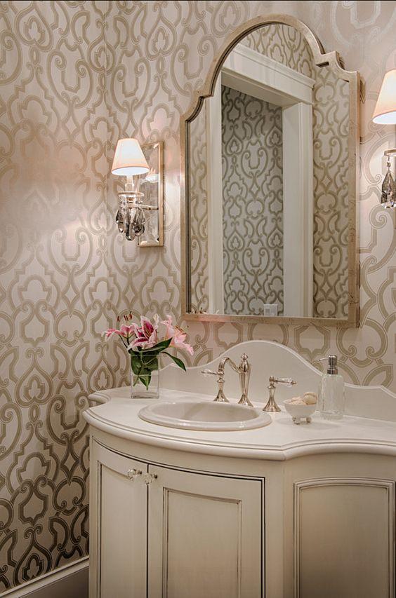 34 banos pequenos pero elegantes 24 decoracion de - Interiorismo banos pequenos ...