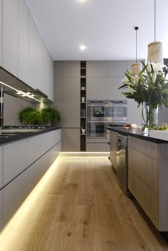 35-ideas-para-decorar-cocinas-modernas (4) | Decoracion de ...