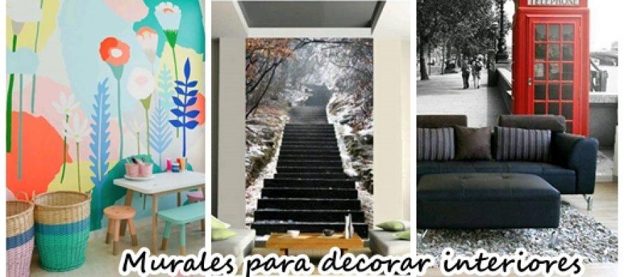 Agrega murales a la decoraci n de tu casa se ven for Murales para decoracion de interiores