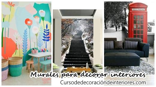 Agrega murales a la decoraci n de tu casa se ven for Decoracion de murallas interiores