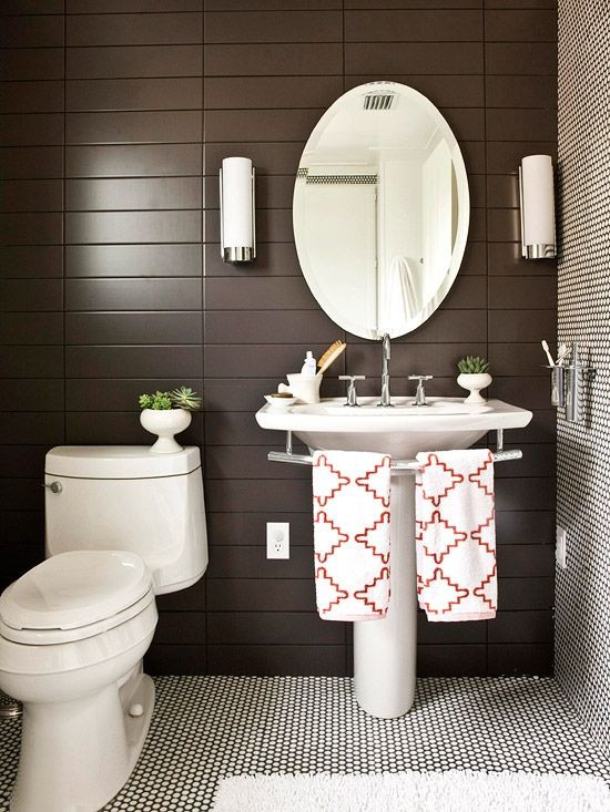 Coastal Bathroom Shelves Over Toilet