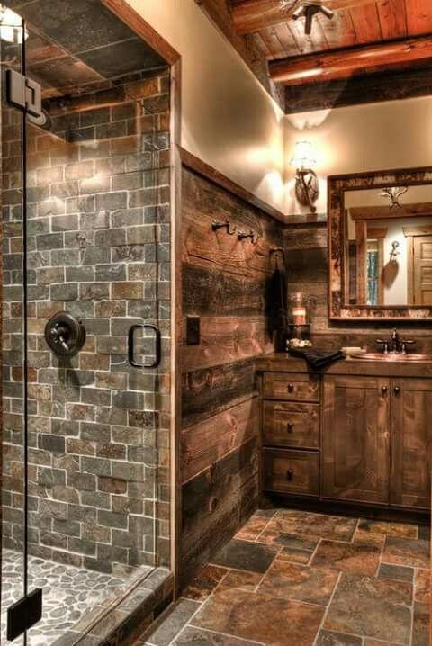 Baños Rusticos | Banos Rusticos Y Elegantes A La Vez 1 Decoracion De Interiores