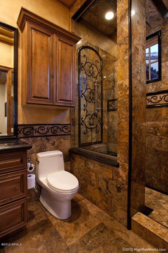 Banos rusticos imagenes de baos rusticos rusticos en for Accesorios bano piedra