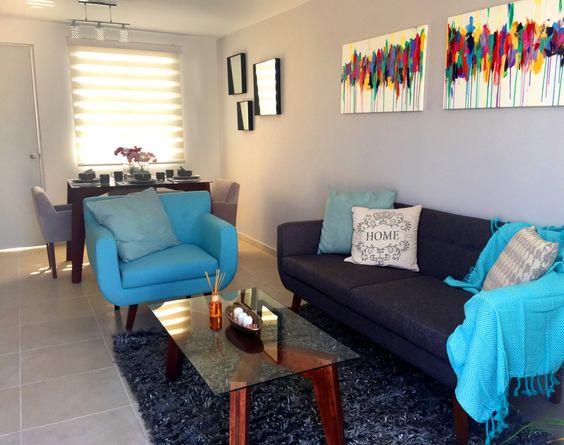 Como decorar una sala de casa de infonavit 27 for Como decorar una casa minimalista