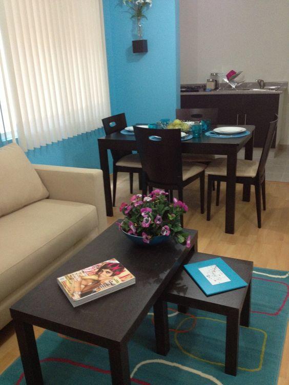 Como decorar una sala de casa de infonavit 8 for Casas decoradas de navidad interiores