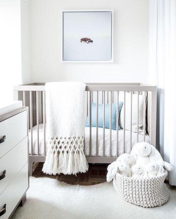 Decoracion de habitacion moderna para bebe 2 curso de for Habitacion bebe moderna