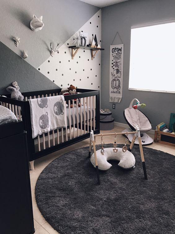 decoracin de habitacin moderna para beb