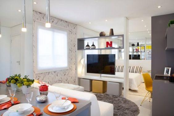 Ideas para dividir espacios en la sala de estar