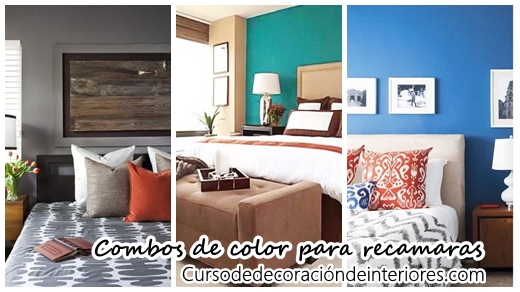 Los mejores 30 combos de color para decorar tu recamara | Decoracion ...
