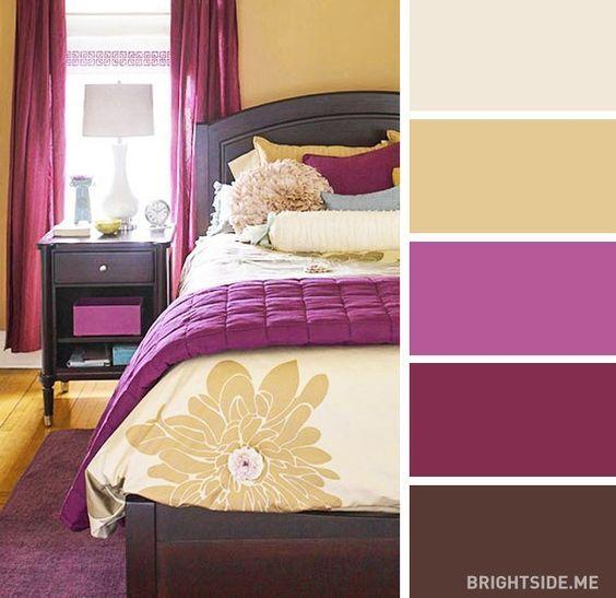 Los mejores 30 combos de color para decorar tu recamara