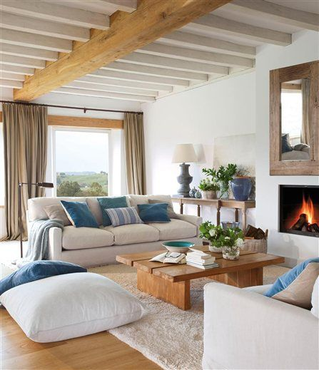 Vigas de madera para decoracion de interiores 15 - Vigas de decoracion ...
