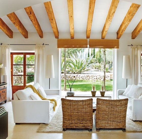 Vigas de madera para decoracion de interiores 5 for Vigas de decoracion