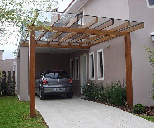 27 disenos de cocheras en diferentes estilos 3 for Estilos de techos para patios