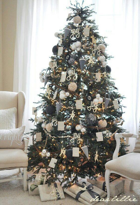 Arboles de navidad 2017 13 decoracion de interiores - Decoracion de arboles de navidad 2017 ...