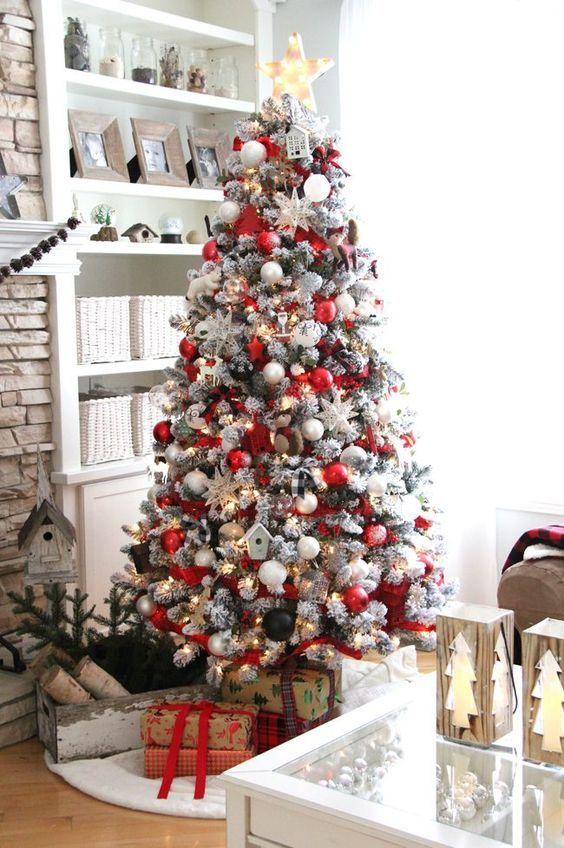 Arboles de navidad 2017 20 decoracion de interiores - Fotos arboles navidad decorados ...