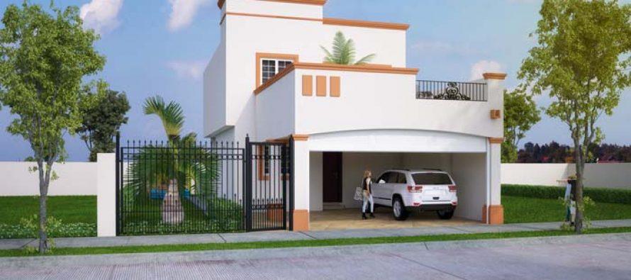 Dise o de interiores y plano de una casa con estilo for Diseno y decoracion de casas