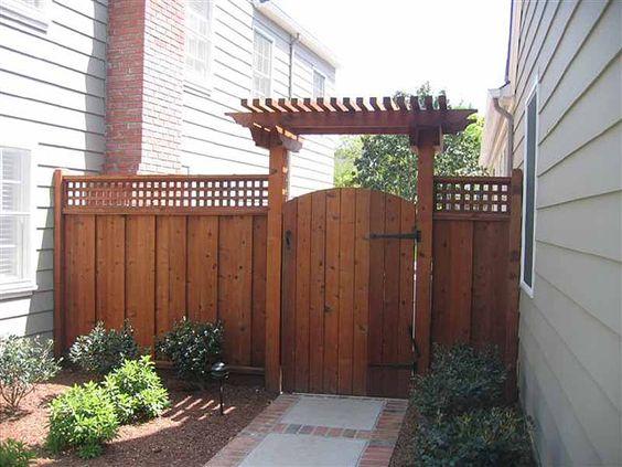 Disenos de cercos de madera para casas 25 decoracion - Disenos casas de madera ...