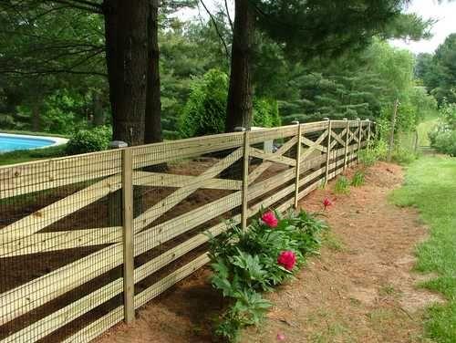Disenos de cercos de madera para casas 27 decoracion - Disenos casas de madera ...