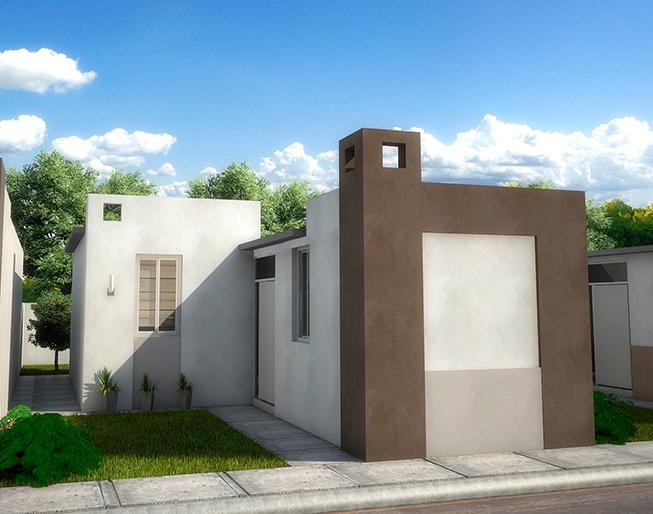 Fachadas y plano de viviendas pequenas de 3 recamaras 2 for Planos y fachadas de casas pequenas