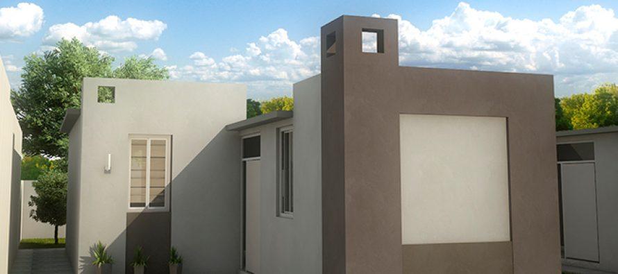 fachadas y plano de viviendas peque as de 3 recamar s