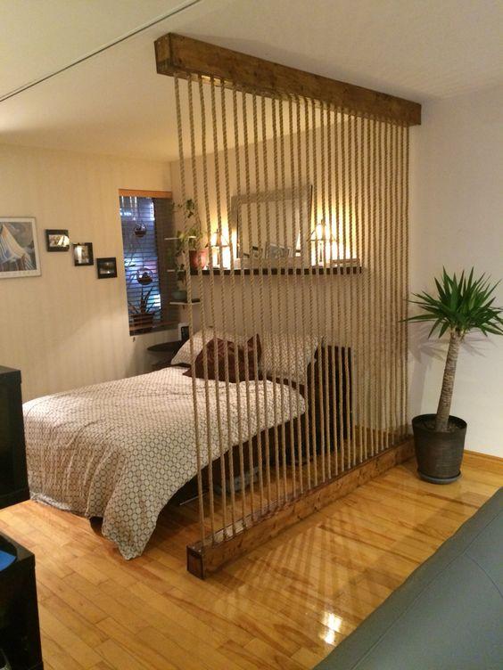 Ideas para dividir espacios en departamentos pequenos 13 for Ideas para decorar ambientes pequenos