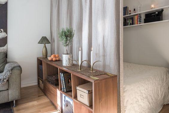 Ideas para dividir espacios en departamentos pequenos 2 for Ideas de decoracion para departamentos pequenos