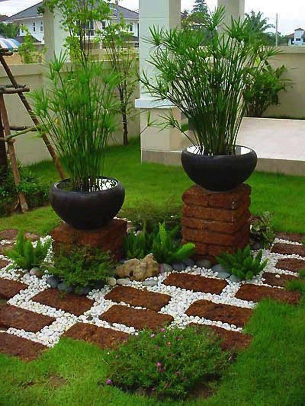 jardines-decorados-con-rocas-y-piedras (12) | Decoracion de ...