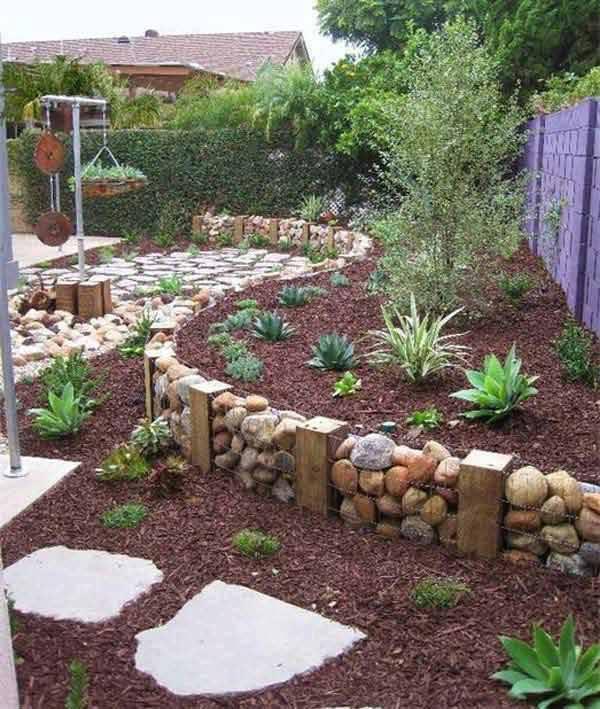 jardines-decorados-con-rocas-y-piedras (20) | Decoracion de ...