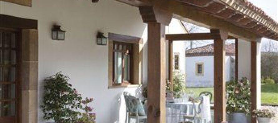 Moderna y rustica esta casa te va a encantar for Casa moderna y rustica