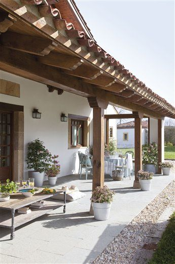 Moderna y rustica esta casa te va a encantar curso de for Casa moderna rustica