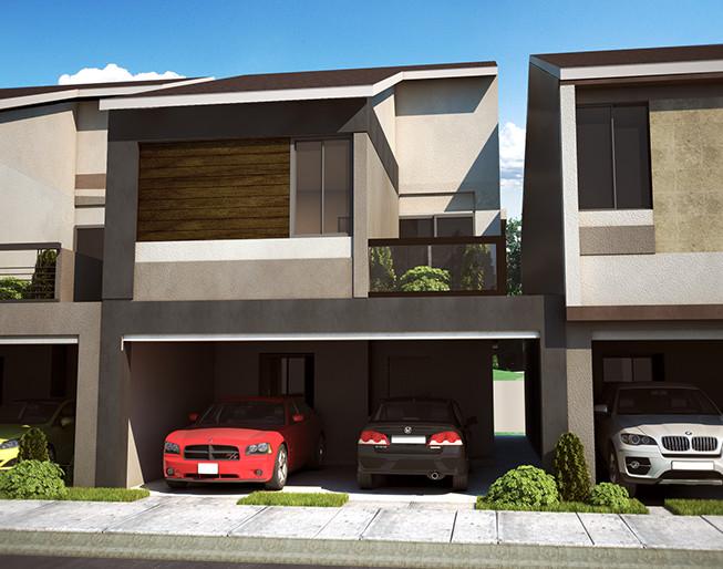 Planos y fachadas de residencias modernas por dentro y por for Disenos de casas modernas por dentro