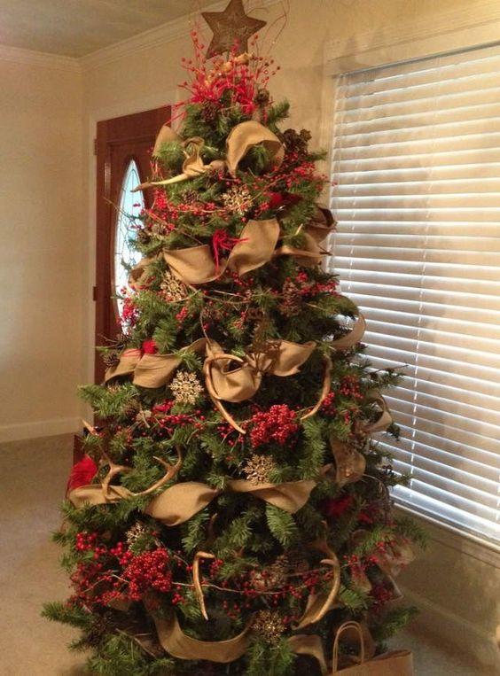 Tendencias para decorar tu arbol de navidad 2017 2018 14 - Como decorar un arbol de navidad ...