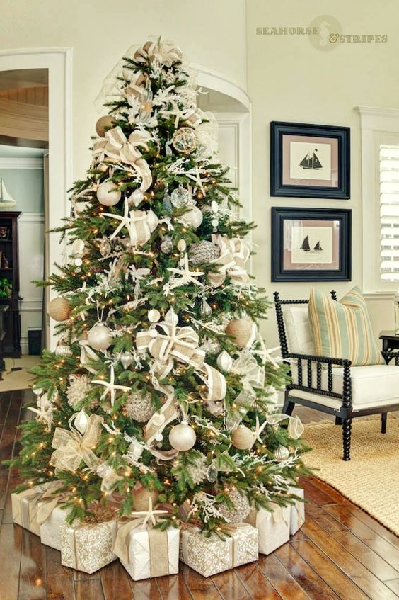 Tendencias para decorar tu arbol de navidad 2017 2018 17 for Decoracion 2017