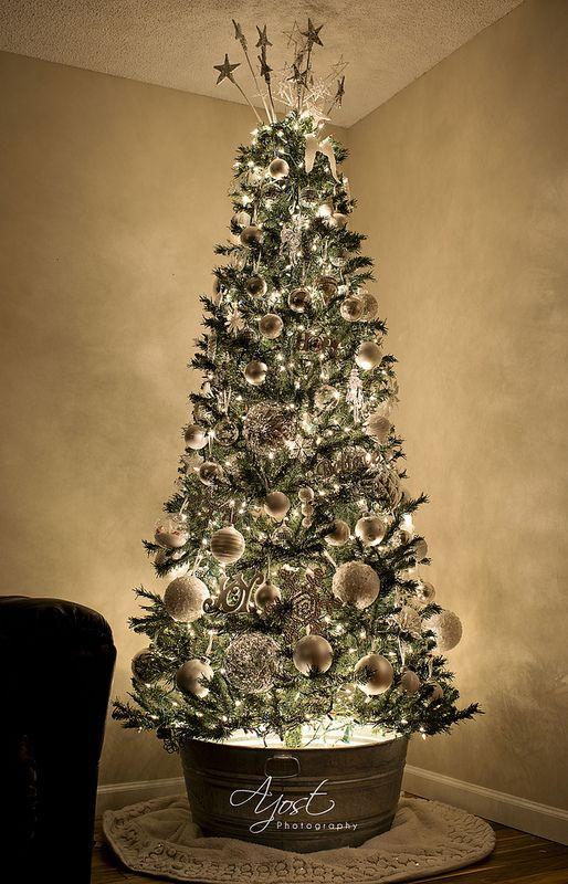 Tendencias para decorar tu arbol de navidad 2017 2018 22 - Arbol de navidad de pared ...